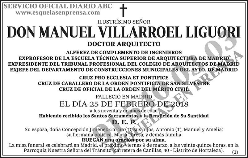 Manuel Villarroel Liguori